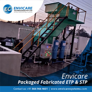 ENVICARE TECHNOLOGIES PVT.LTD., Effluent Treatment Plants ( ETP )